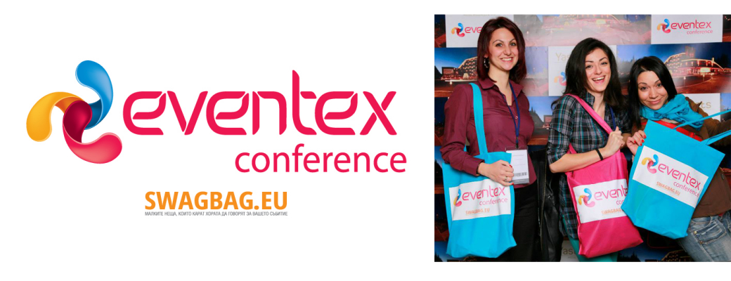 Promotional bag for Eventex Conference